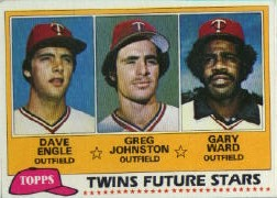 1981 Topps Baseball Cards      328     Dave Engle/Greg Johnston/Gary Ward