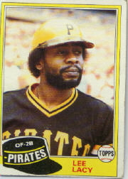 1981 Topps Baseball Cards      332     Lee Lacy