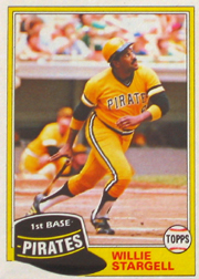 1981 Topps Baseball Cards      380     Willie Stargell