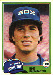 1981 Topps Baseball Cards      398     Ross Baumgarten