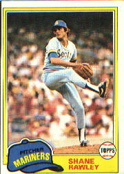 1981 Topps Baseball Cards      423     Shane Rawley