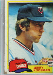 1981 Topps Baseball Cards      476     Jerry Koosman