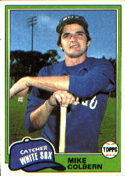 1981 Topps Baseball Cards      522     Mike Colbern