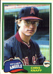 1981 Topps Baseball Cards      557     Chris Knapp