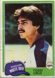 1981 Topps Baseball Cards      571     Todd Cruz