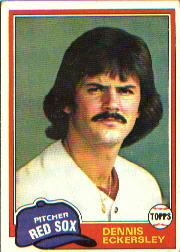 1981 Topps Baseball Cards      620     Dennis Eckersley