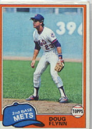 1981 Topps Baseball Cards      634     Doug Flynn