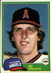 1981 Topps Baseball Cards      069      Ed Halicki