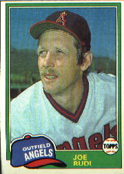 1981 Topps Baseball Cards      701     Joe Rudi