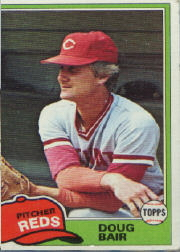 1981 Topps Baseball Cards      073      Doug Bair
