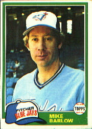 1981 Topps Baseball Cards      077      Mike Barlow
