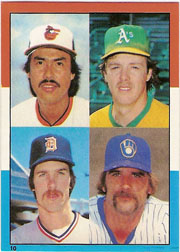 1982 Topps Baseball Stickers     010      AL Wins Leaders#{Steve McCatty#{Dennis Martinez#{P