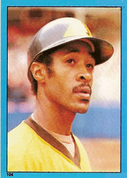 1982 Topps Baseball Stickers     104     Ozzie Smith
