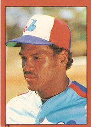 1982 Topps Baseball Stickers     116     Tim Raines HL