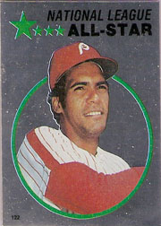 1982 Topps Baseball Stickers     122     Manny Trillo FOIL