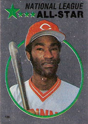 1982 Topps Baseball Stickers     126     George Foster FOIL