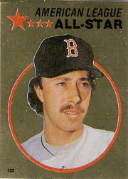 1982 Topps Baseball Stickers     132     Jerry Remy FOIL