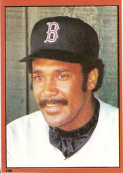 1982 Topps Baseball Stickers     150     Jim Rice