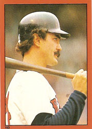1982 Topps Baseball Stickers     153     Dwight Evans