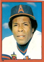 1982 Topps Baseball Stickers     160     Rod Carew