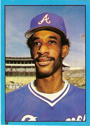 1982 Topps Baseball Stickers     022      Claudell Washington