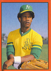 1982 Topps Baseball Stickers     221     Rickey Henderson