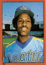 1982 Topps Baseball Stickers     230     Lenny Randle