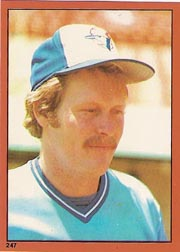 1982 Topps Baseball Stickers     247     Ernie Whitt