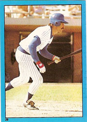 1982 Topps Baseball Stickers     029      Bill Buckner