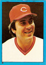 1982 Topps Baseball Stickers     035      Johnny Bench