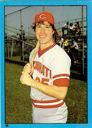 1982 Topps Baseball Stickers     039      Ray Knight