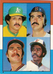 1982 Topps Baseball Stickers     004      AL HR:Tony Armas#{Bobby Grich#{Dwight Evans#{Eddie Murray