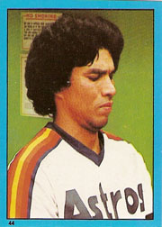 1982 Topps Baseball Stickers     044      Jose Cruz