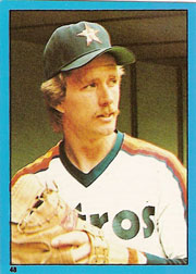1982 Topps Baseball Stickers     048      Alan Ashby