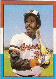 1982 Topps Baseball Stickers     006      Eddie Murray LL
