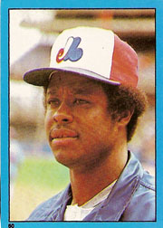 1982 Topps Baseball Stickers     060      Warren Cromartie