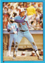 1982 Topps Baseball Stickers     061      Gary Carter