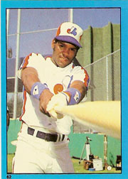 1982 Topps Baseball Stickers     062      Tim Raines