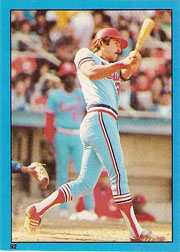 1982 Topps Baseball Stickers     092      Keith Hernandez