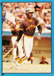 1982 Topps Baseball Stickers     098      Broderick Perkins