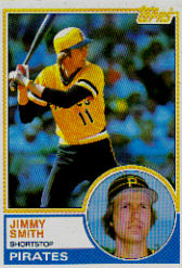 1983 Topps      122     Jimmy Smith