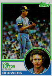 1983 Topps      145     Don Sutton
