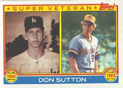 1983 Topps      146     Don Sutton SV