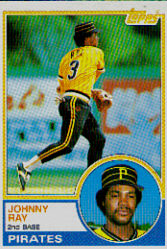 1983 Topps      149     Johnny Ray
