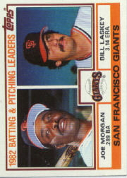 1983 Topps      171     Giants TL/Joe Morgan/Bill Laskey