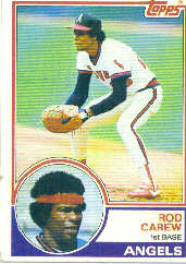 1983 Topps      200     Rod Carew