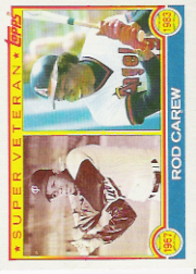 1983 Topps      201     Rod Carew SV