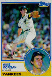 1983 Topps      203     Mike Morgan