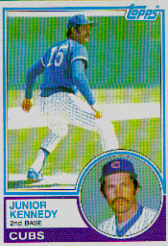 1983 Topps      204     Junior Kennedy
