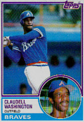 1983 Topps      235     Claudell Washington